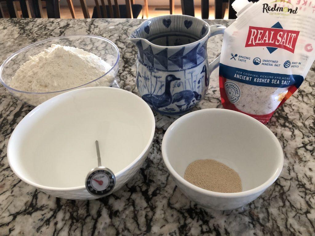 Flour, Salt, Water, Yeast