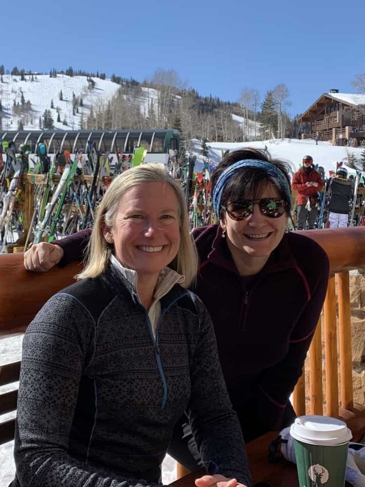 Make new friends skiing over age 50